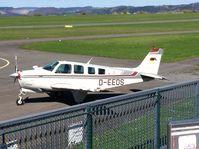 D-EEDS @ EDQD - Beechcraft Bonanza Bayreuth Airport - by flythomas