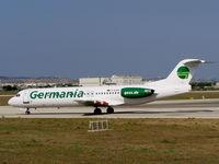 D-AGPR @ LMML - F100 D-AGPR Germania - by raymond