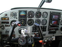 5R-MDV @ FMNN - Piper Comanche 260B 5R-MDV - Instrument Panel during cruise flight FL055 West Coast Madagascar. - by Mathias ISMAIL