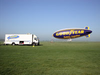 G-HLEL @ LFPE - 1er day since 2001 last operation GOODYEAR in Europe.
