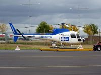 VH-HWA @ YMEN - Channel 9 Eurocoter VH-HWA on dolly at Essendon - by red750