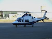 VH-LSN @ YMEN - This near new helicopter was unfortunately parked in the full shadow of the hangar at Essendon Airport