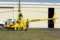 N828AK @ KSGJ - 2007 Robinson Helicopter R44, c/n: 1689