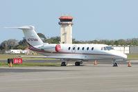 N737MM @ KSGJ - 2000 Cessna 650, c/n: 650-7113
