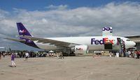 N676FE @ NIP - Fed Ex A300