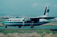 TF-FLN @ LMML - F27 TF-FLN Icelandair