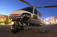 D-HHLM @ 0000 - Linz Marathon Heli,