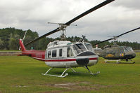N53AG @ 27FD - at Coastal Helicopters Inc heliport, Panama City FL USA