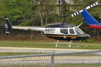 N155SD @ 27FD - Coastal Helicopters Inc heliport, Panama City FL USA