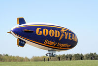 G-HLEL @ LFFQ - blimp Safety 2 8 to 17 April for flights over région of Paris, France