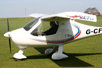 G-CFDP @ X4SO - at Ince Blundell microlight field - by Chris Hall