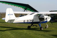 G-SCPD @ X4SO - at Ince Blundell microlight field - by Chris Hall
