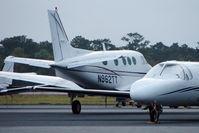 N962TT @ KPNS - 1981 Beech C90, c/n: LJ-962