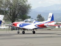 N548MB @ POC - Mike Brown from Septemebr Pops Racing Team down visiting - by Helicopterfriend