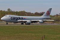 LX-YCV @ ELLX - LX-YCV_ Boeing 747-4R7F/SCD - by Jerzy Maciaszek