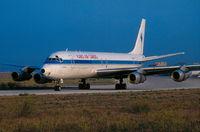 5N-AWE @ LMML - DC85N-AWE Kabo Air Cargo - by raymond