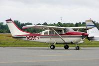N95PY @ KLCQ - 1964 Cessna 210E, c/n: 21058514