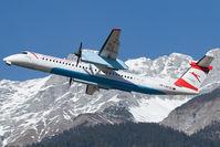 OE-LGH @ LOWI - Austrian Arrows DHC 8-400 - by Andy Graf-VAP