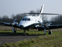 G-RAVL @ EGTC - Parked at Cranfield on the disused runway. - by Ashley Flynn