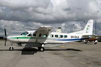 5H-OLA @ HTDA - Preparing for departure at Dar Es Salaam - by Duncan Kirk