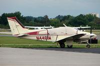 N4461W @ GIF - 1974 Beech 95-B55 (T42A), c/n: TC-1677