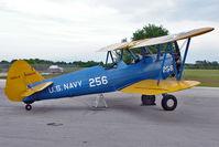 N28024 @ GIF - 1945 Boeing A75N1(PT17), c/n: 75-2799 with NAVY CODE 256