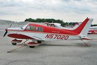N57020 @ GIF - 1973 Piper PA-28-140, c/n: 28-7425083