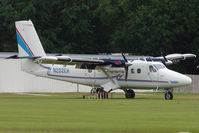 N202EH @ X49 - 1967 Dehavilland DHC-6 TWIN OTTER, c/n: 48 based at South Lakeland for Parachuting activities