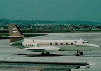 5A-DAJ @ LMML - Jetstar 5A-DAJ Libyan Arab Airlines - by raymond