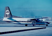 5A-DBO @ LMML - F27 5A-DBO Libyan Arab Airlines