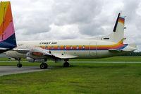 C-GBFA @ CYRP - Avro 748-2B/FAA [1781] First Air Ottawa-Carp~C 19/06/2005 - by Ray Barber