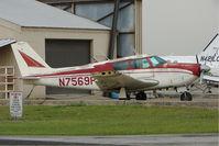N7569P @ BOW - 1961 Piper PA-24-180, c/n: 24-2780