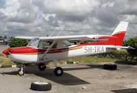 5H-IKA @ HTDA - Flying club Cessna 152 - by Duncan Kirk