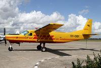 5Y-OBY @ HTDA - This Caravan flies Dar Es Salaam to Nairobi for DHL - by Duncan Kirk
