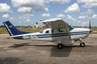 5H-GHL @ HTDA - Tanzanian Air Services Cessna 206 - by Duncan Kirk