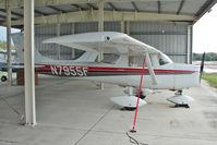 N7955F @ PCM - 1966 Cessna 150F, c/n: 15064055