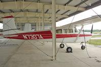 N7307A @ PCM - 1956 Cessna 172, c/n: 29407