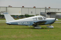 N9749J @ PCM - 1967 Piper PA-28-180, c/n: 28-3935