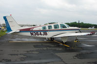 N364JB @ PCM - 1997 Raytheon Aircraft Company A36, c/n: E-3079