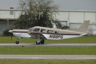 N188PG @ PCM - 1977 Piper PA-32R-300, c/n: 32R-7780317