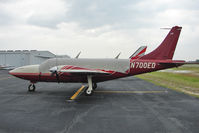 N700ED @ PCM - Piper AEROSTAR 600, c/n: 6007678061232