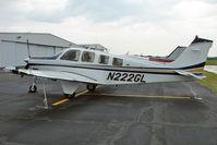 N222GL @ PCM - 2007 Raytheon Aircraft Company G36, c/n: E-3763