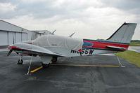 N1855W @ PCM - 1973 Beech 95-B55 (T42A), c/n: TC-1557