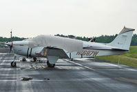 N1687W @ PCM - 1972 Beech A36, c/n: E-355