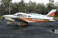 N2492X @ PCM - 1985 Piper PA-28-236, c/n: 28-8511017