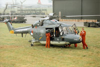 272 @ EGVA - SH-14D Lynx, callsign Netherlands Navy 751, of 860 Squadron on display at the 1994 Intnl Air Tattoo at RAF Fairford. - by Peter Nicholson
