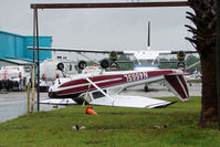 N4655L @ ISM - Turned upside down by a storm 1966 Cessna 172G, c/n: 17254650