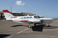 5H-IBM @ HTDA - Nice Cessna 402 - by Duncan Kirk