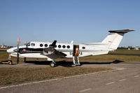 5H-SPA @ HTDA - Recently registered Beech 350 - by Duncan Kirk