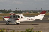 5H-TCC @ HTDA - Flightlink Cessna 206 - by Duncan Kirk